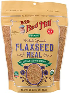 Bob's Red Mill Organic Flaxseed Meal, 453 gm