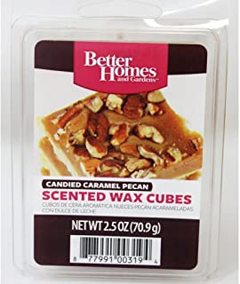 Better Homes and Gardens Candied Caramel Pecan Scented Wax Cubes