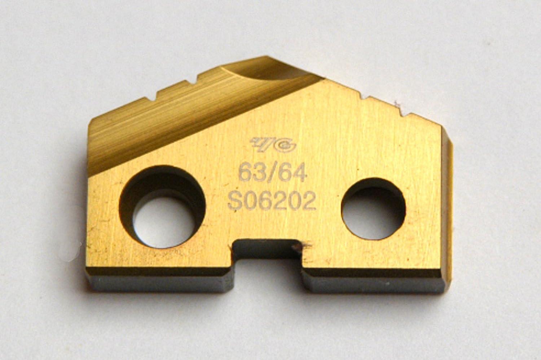 Ranking TOP3 63 .9843 Diameter Spade Drill Store Coated Insert T-15 TIN Seri
