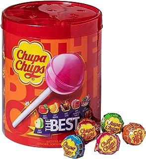 Chupa Chups Best of Lollipops tennförpackning med 50 x 12 g