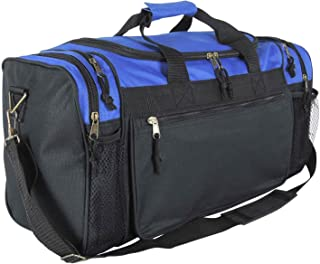 """20"""" Sports Duffle Bag w Mesh and Valuables Pockets Travel Gym"""