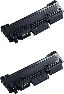 Printing Saver D116L Negro (2) Cartuchos de Tóner para Samsung Xpress SL-M2625 M2625D M2626D M2675F M2675FN M2676 M2676N M2825DW M2825ND M2835 M2835DW M2875FD M2875FW M2875ND M2885 M2885FW