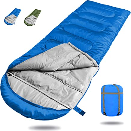 Dreamsbox Saco de Dormir de 3 Estaciones,Saco de Dormir Ultra Ligero Multifuncional,210