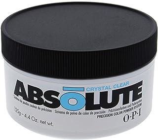 OPI Absolute Crystal Clear Powder for Women 4.4 oz Nail Powder, 125 g