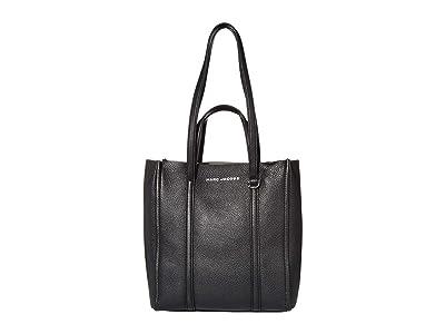 Marc Jacobs The Tag Tote (Black) Tote Handbags