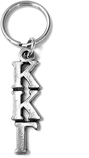 Kappa Kappa Gamma Metal Letter Keychain kkg