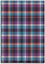 Customized Doorway Curtain to Keep Privacy,Celtic Tartan Irish Culture Scotland Country Antique Tradition Tile Decorative(33.5x59 Inches),Room Divider Curtain,Family Half Curtain for Home Decoration