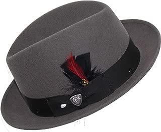 7 1//2 Stetson Dobbs DSRBUD-1521 Rosebud Hat Burgundy