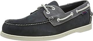 Sebago Portland Spinnaker Nubuck, Chaussures Bateau Hommes, Multicolore Navy Grey N23, 47 EU