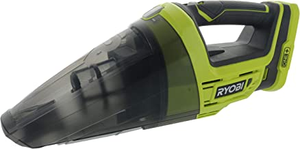 Ryobi P7131 One+ 18V Lithium Ion Battery Powered Cordless Dry Debris Hand Vacuum with Crevice Tool (Batteries Not Included / Power Tool Only) (Renewed)