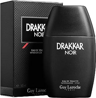 Drakkar Noir by Guy Laroche Eau de Toilette Spray Fragrance for Men - Top Notes of Lavender, Lemon, Mandarin - Heart Notes of Warm Spices, Coriander, Juniper - Base Notes of Cedar, Vetiver - 1.7 oz