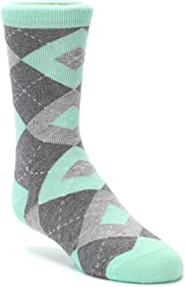 Statement Sockwear Argyle Youth Junior Kid's Groomsmen Dress Socks