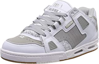 Sabre Skate Shoes Trainers White Grey Gum UK 9.5   US10.5   EU 44