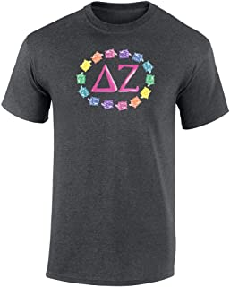 Fashion Greek Delta Zeta Rainbow Turtles Unisex T Shirt by