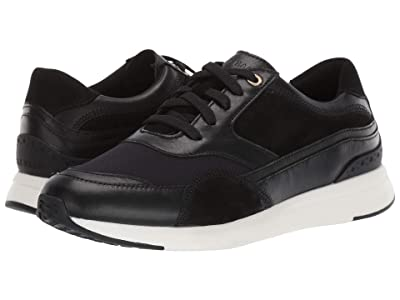 Cole Haan Grandpro Downtown Runner (Black/Optic White) Women