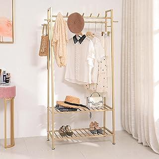 XI FA Simple Modern Pole Estante de almacenamiento de ropa Portemanteau Industriel Portant pour Garder vêtements et Organi...