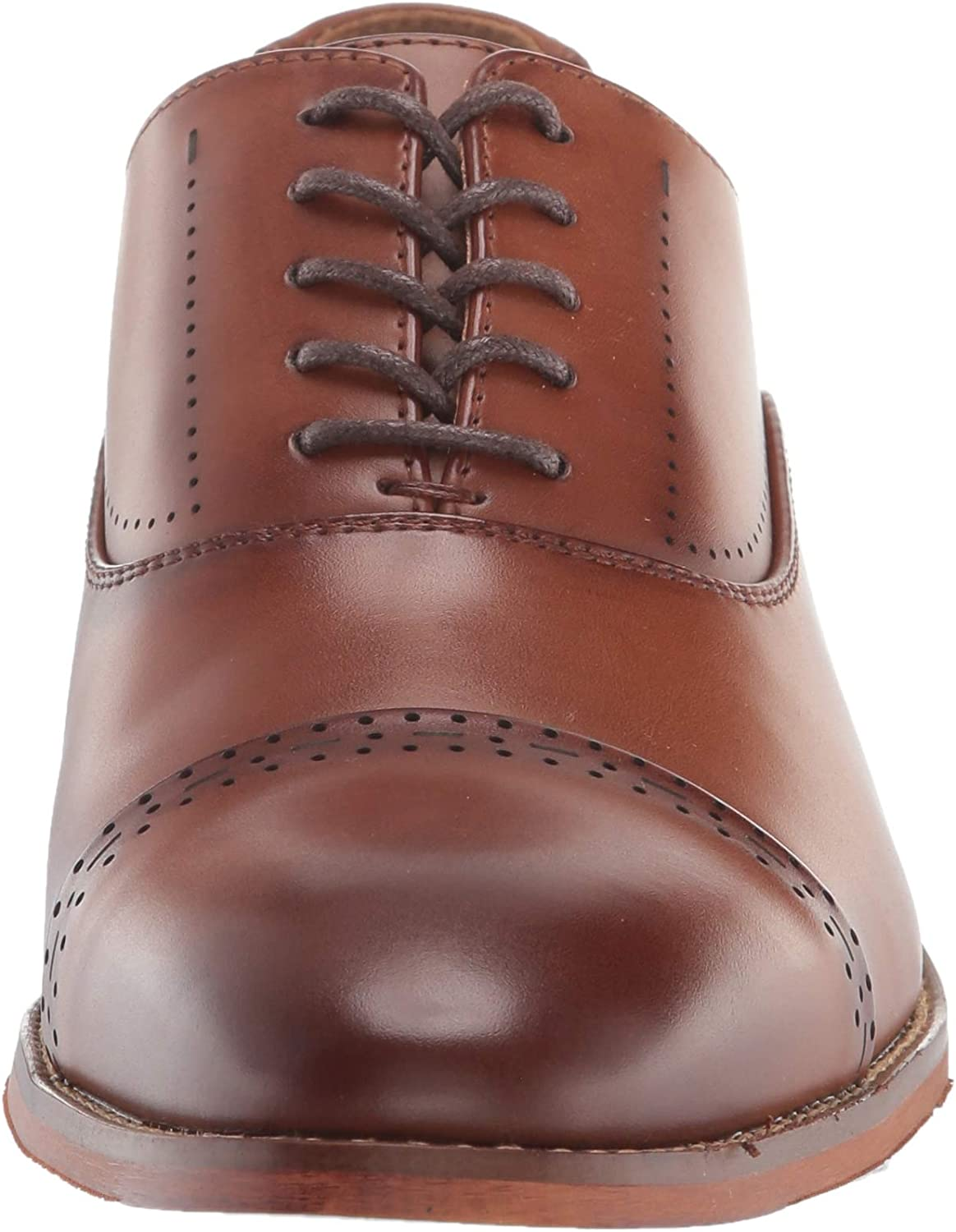 Kenneth Cole REACTION Men's Blake Lace Up BRG Ct Oxford