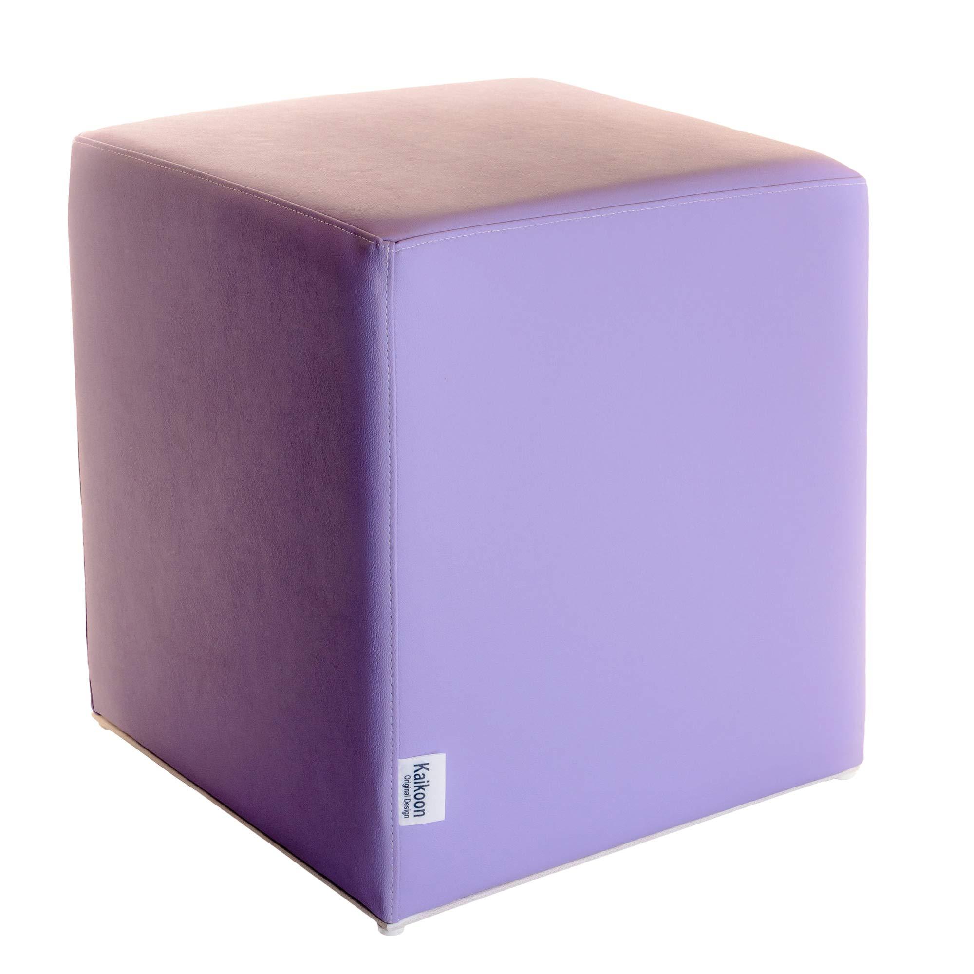 e Poliuretano Alta Densita Multicolor Bianco Rosso Grigio 42x4242 cm Sfoderabile con Zip Arketicom Pouf Cubo Poggiapiedi Ispirato al cubo di Rubik in Tessuto Cotone e Poliestere