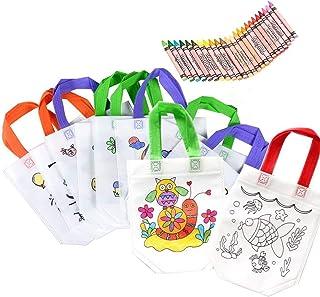 Lote 12 DIY Graffiti Bolsas para Colorear Ideal para +24 lápices de graffiti inofensivo de la salud de los de cumpleaños, comuniones, colegios, guarderías y celebraciones.