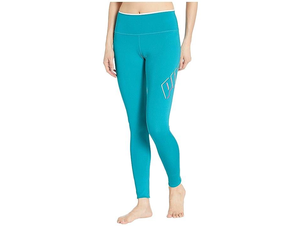 PUMA Modern Sports Fold Up Leggings (Caribbean Sea) Women