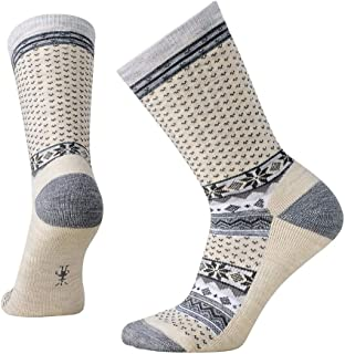 Cozy Cabin Crew Socks - Women's Medium Cushioned Merino Wool Performance Socks