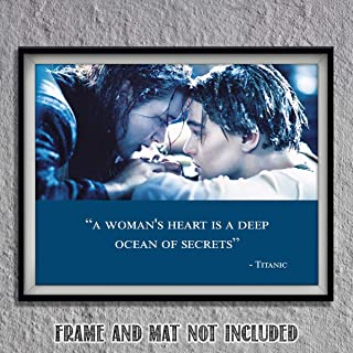 Titanic-Movie Quotes Poster Print-8 x 10