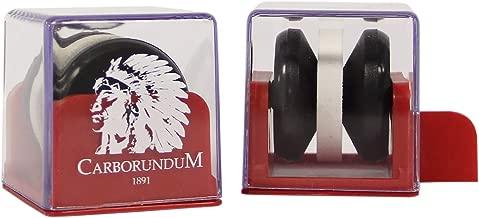 Afiador De Facas Carborundum Caixa Com 9 Carborundum Branca/ Vermelha