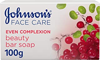 JOHNSON'S, Cleansing Bar, Even Complexion, 100g
