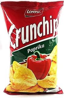 Lorenz Crunships Paprika Chipsletten with Finest Sunflower Oil 100g 2 Pack