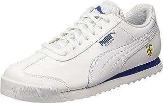 Puma Unisex Kid's Sf Roma Jr White-Galaxy Sneakers