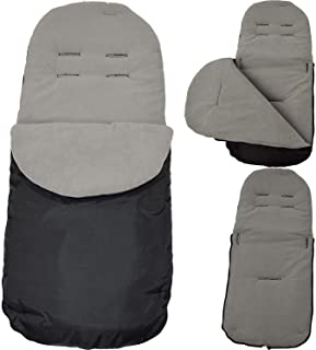 FYLO Deluxe Footmuff//Cosy Toes Compatible with Zooper Koozer 3WD Grey