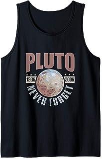Astronomy Never forget pluto Retro space planet Débardeur