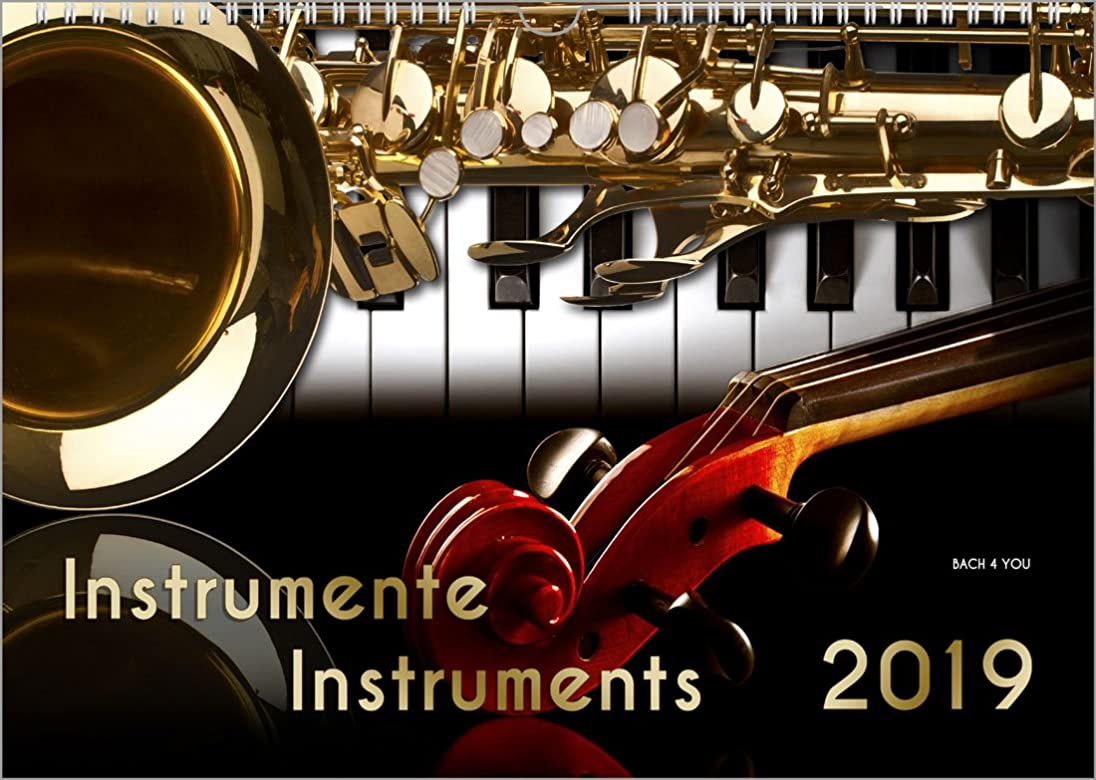 選出するうめき声裕福なCalendrier d'instruments de musique 2019, DIN-A4: (297 x 210 mm) Instrumente - Instruments
