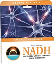 Source Naturals NADH 20mg Peppermint Lozenge - 30 Lozenges