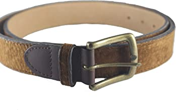 Capybara Carpincho Classic Polo Belt Exclusive Argentine Leather Unisex