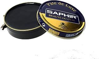 Saphir Beaute Du Cuir Pate De Luxe High Gloss Black Shoe Polish 50ml