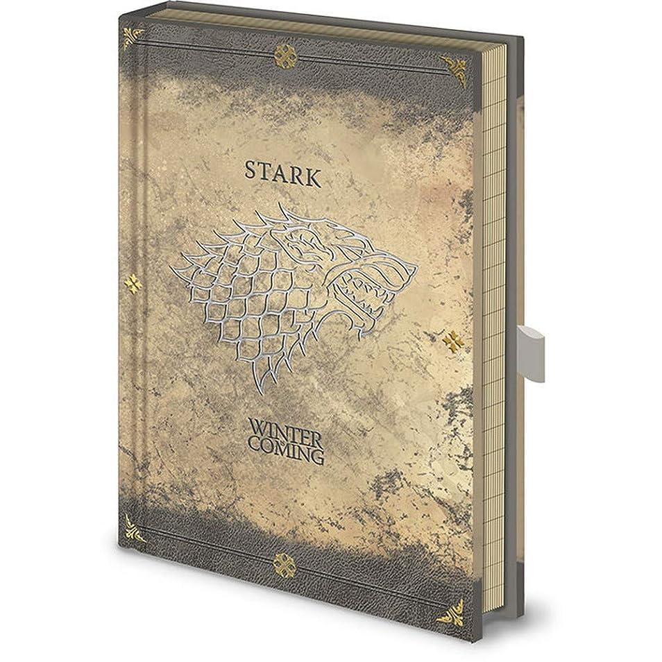 GAME OF THRONES ゲーム?オブ?スローンズ - Stark Worn/Premium A5 / ノート 【公式/オフィシャル】