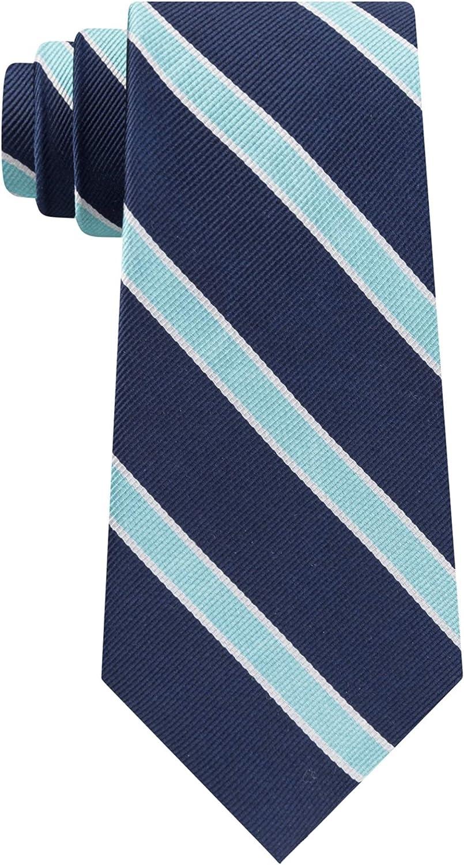 Tommy Hilfiger Mens Stripe Self-Tied Necktie