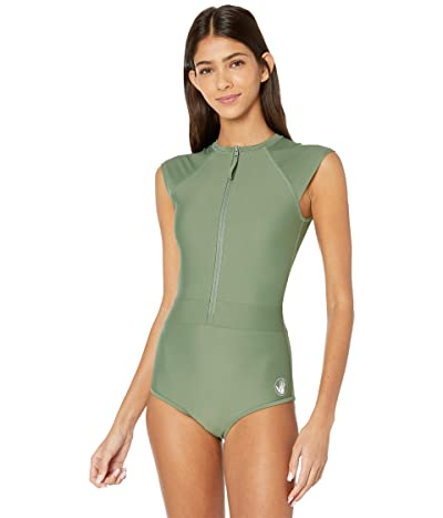 Body Glove Smoothies Stand Up One-Piece Paddle Suit (Cactus) Women