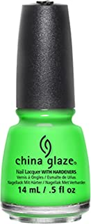 China Glaze Nail Lacquer, Kiwi Cool-Ada, 0.5 Fluid Ounce