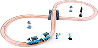 Hape E3729 Figure 8 Safety Train Railway Set, 14.76