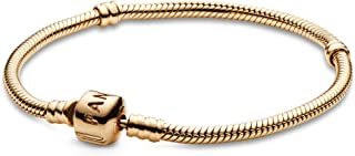 550702 14K Gold Barrel Clasp Bracelet (Different