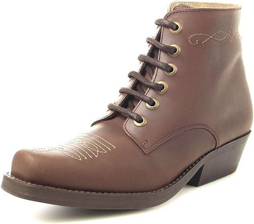 Fashion bU1010 western bottes-bottines femme schnürbottesette (différents Couleuris)