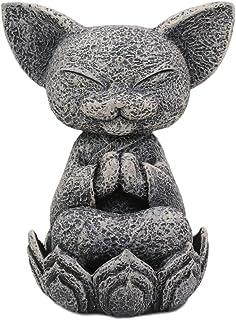 Ebros Feng Shui Zen Meditierende japanische Jizo-Katze Mönc