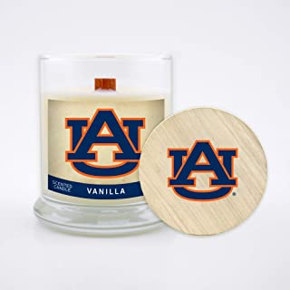 Worthy Promo NCAA Unisex-Adult NCAA 8 Oz Soy Wax Wood Wick Candle with Lid