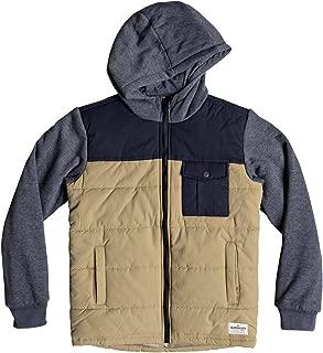 Quiksilver Boys' Big Oha You Youth Zip Up Jacket