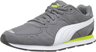 Puma Unisex Kid's Vista Jr Castlerock White-nrgy Yell Sneakers