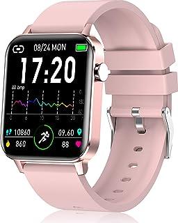 andfive Smart Watch, Fitness Tracker for Women, IP68 Waterproof Smartwatch with Pedometer, 1.4