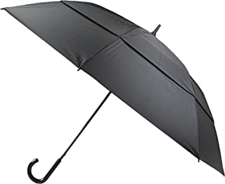 TOTES Golf Umbrella Auto Open | Windproof | 62 Inch Vented Double Canopy | Classic