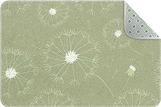 Doormat Custom Indoor Welcome Door Mat, Dandelion Loosing Seeds The Wind Home Decorative Entry Rug Garden/Kitchen/Bedroom ...